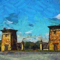 Египетские ворота Царского Села... :: Tatiana Markova