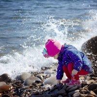Девочка и море :: Юлия Куракина