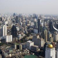 Бангкок. Вид со смотровой площадки отеля Байок Скай. :: Cергей Павлович