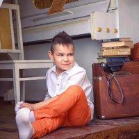 Мальчишка с потрясающей мимикой! :: Юлия Романенко
