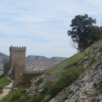 Генуэзская крепость :: Людмила