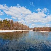 Реки Сибири. Река Быстрая :: Анатолий Иргл