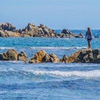 Мальчик и море... :: Арина