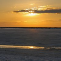 Река Печора в ожидании ледохода!!!! :: Олег Кулябин