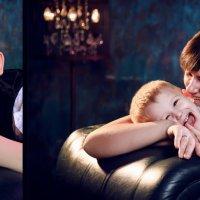 Портрет с мамочкой :: Марка Кондратьева