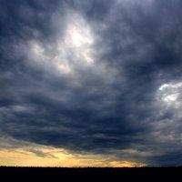 Грозовой пейзаж.... :: Валерия  Полещикова