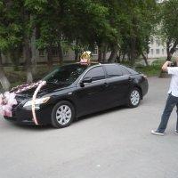 Авто на свадьбу. :: Олег Афанасьевич Сергеев