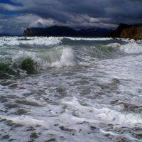 Апрельский шторм. :: юрий ярмонтович