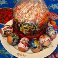Светлой Пасхи!Мира, счастья и добра! :: Елена Семигина