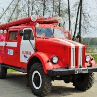 Раритет пожарной машины 1953 год :: Иван Нищун