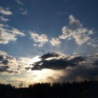 Вечерние облака :: Виктория Нефедова
