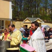Освящение куличей :: Андрей Лукьянов