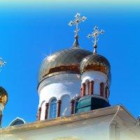 Купола в России кроют золотом.. :: Андрей Заломленков