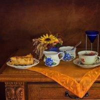 Кусочек пирога с ревенем к чаю :: Надежда