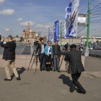 На фоне символов России :: Аркадий Беляков