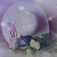 Про женщину... Шляпка и розы :: Nina Yudicheva