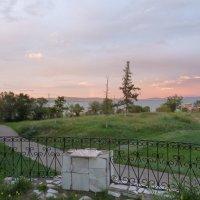 Вид на озеро Шира со стороны лечебно-диагностического отделения :: Галина