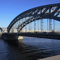 Большеохтинский мост (он же ныне Петра Великого) :: Михаил Радин