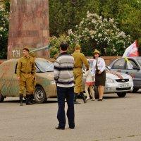 репетиция Дня Победы в г.Зеленокумске :: Наталия Сарана
