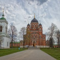 Владимирский собор в Спасо-Бородинском  женском монастыре. :: Nikolay Ya.......