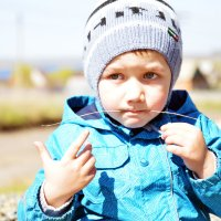 Мальчик с соломинкой :: Полина Потапова