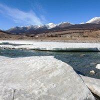 Река, лёд и горы :: Анатолий Иргл
