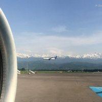 А ты, улетающий вдаль самолет,  в сердце своём сбереги... :: Anna Gornostayeva