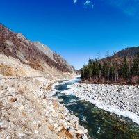 Река вдоль трассы :: Анатолий Иргл