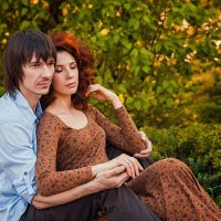 Влюбленная пара :: Кристина Волкова(Загальцева)