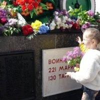 Возложение цветов :: Лилия Дубчак