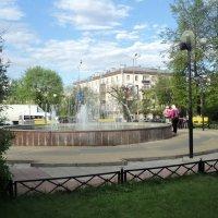 У фонтана... :: Ольга Кривых