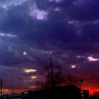 закат в Гомеле :: Александр Прокудин