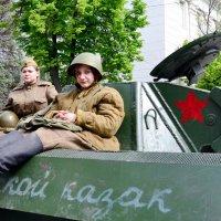 Портрет на танке :: Владимир Болдырев
