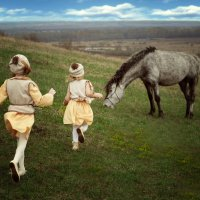Беззаботное детство :: Валерия Лобова