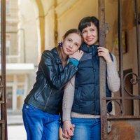 мама и дочка :: Анна Ефимова
