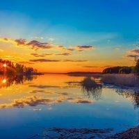 Закатная акварель :: Арина Зотова