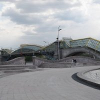 Москва. Багратионовский мост :: Дмитрий Никитин
