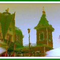 отражение в мартовской воде :: Александр Прокудин