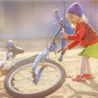 Все мечтают о велосипеде... :: Olga Rosenberg