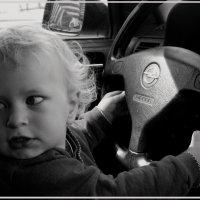 Девушка за рулём :: Ирина Белорусочка