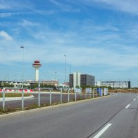 Дорога в небо ( аэропорт во Франкфурте ) :: Ешкин-Кот Дедушкин