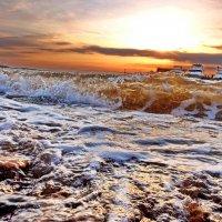 волна бежит на этот берег :: Ingwar
