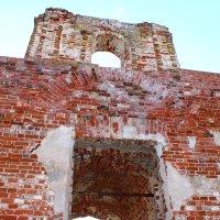Заброшенная церковь (Церковь Вознесения Господня в Карадулях) :: Marina Clement