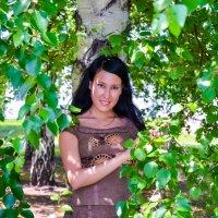 В зеленой листве березы :: Сергей Тагиров