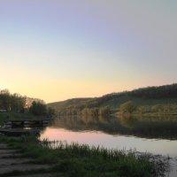 Закат на реке :: Инна Щелокова