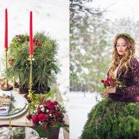 Зимняя рустик-свадьба. Диптих :: Ярослава Громова