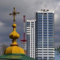 Город стремится ввысь :: Валерий Чепкасов