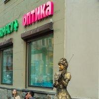 Живая скульптура на Арбате :: Игорь Герман