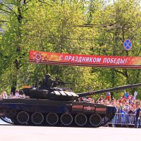 На параде :: Татьяна Ломтева