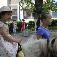 Кто верхом , а кто пешком :: Oksana Аникеева